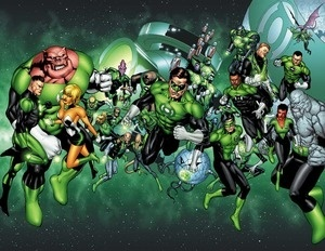 Green Lantern: Guy Gardner is my favorite.