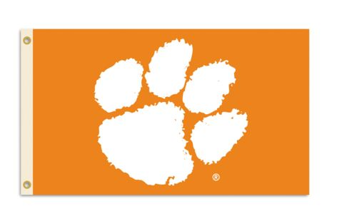 NCAA Clemson Tigers 3 Ft. X 5 Ft. Flag W/Grommets j