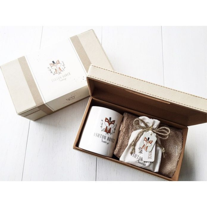 Ashton Royce - Cute Lil Fox - First Month Baby Hampers by LE POMMIER { Bespoke…