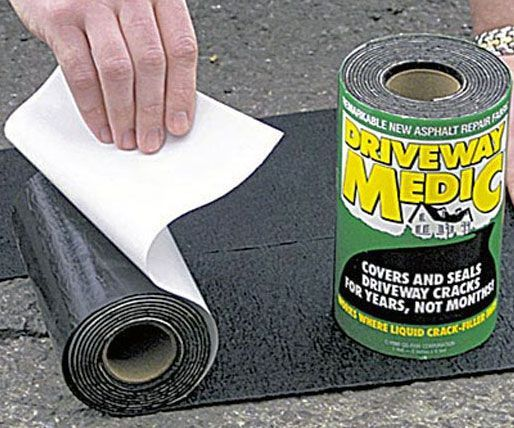 Don't call a contractor - now you can fix cracks with ease using this driveway asphalt repair kit! This foolproof DIY kit will cover cracks for years, so you can help restore your home's curbside appeal without breaking the bank.