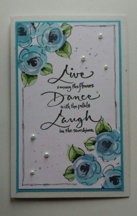 Flowers By Jules Hand Painted Cards
