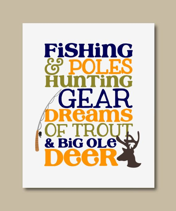 BLACK FRIDAY SALE Fishing poles and by RainbowsLollipopsArt