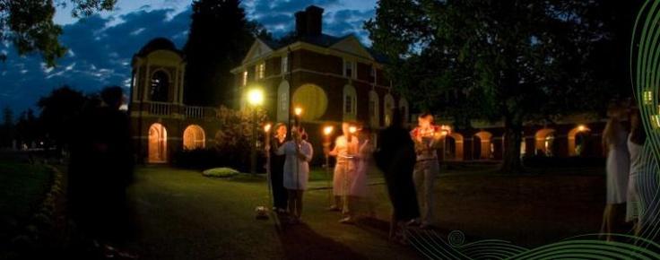 Lantern Bearing at Sweet Briar College