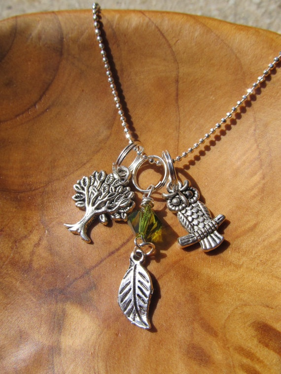 FALL BACK to SCHOOL Owl with Tree of Life by DestinyAccessory, $18.00: Back To Schools, Style, Trees Of Life, Fall, Schools Owls, Harry Potter Owls, Potter Things, Tree Of Life, Owls Necklaces