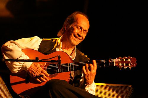 TODAY (February 26, 2 years ago) Francisco Sánchez Gómez a.k.a. Paco de Lucia the Spanish guitarist between jazz and flamenco , passed away. He is remembered. To watch his 'VIDEO PORTRAIT'  'Paco De Lucia - Un Poco De Paco' in a large format, to hear 'BEST OF  Paco de Lucia  Tracks' on Spotify go to  >> http://go.rvj.pm/g0