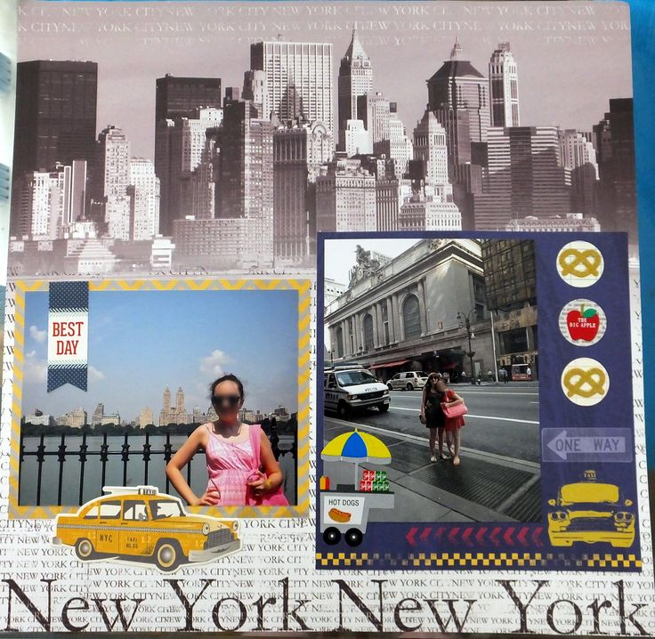 New York New York - Scrapbook.com