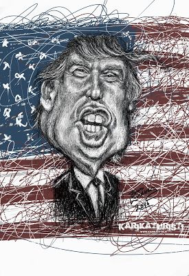 Karikaturisti: Mr Donald Trump