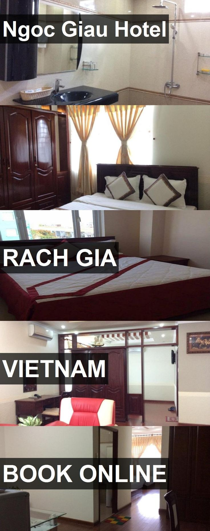 Ngoc Giau Hotel in Rach Gia, Vietnam. For more information, photos, reviews and best prices please follow the link. #Vietnam #RachGia #travel #vacation #hotel