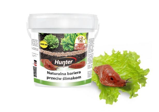 Naturalna bariera przeciw ślimakom