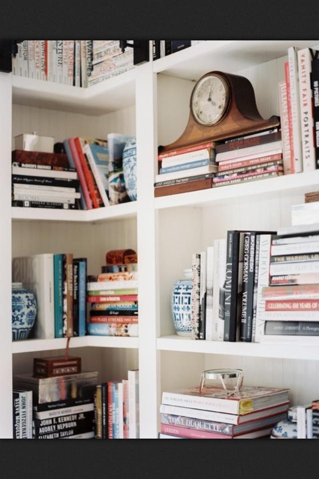 Bookshelf Organization At Its Prettiest