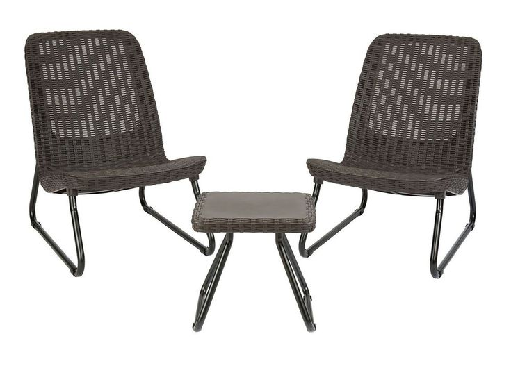 Patio Garden Furniture Sets Brown Chair Table Rattan Design Comfortable Durable #PatioGardenFurniture