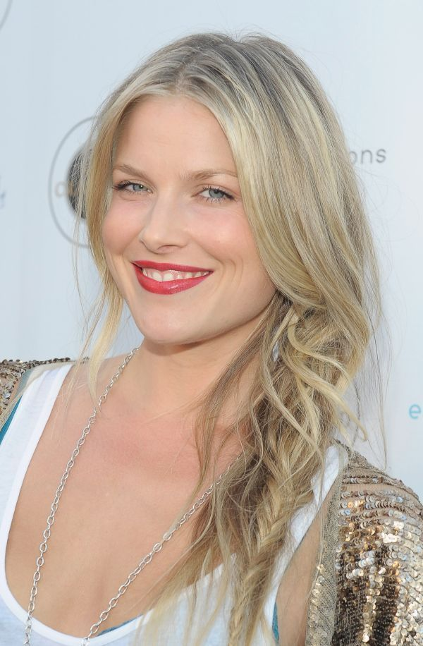Ali Larter Undone Braids-divide up sections before braiding and scrunch with texturizing spray before braiding. Works best with second day hair