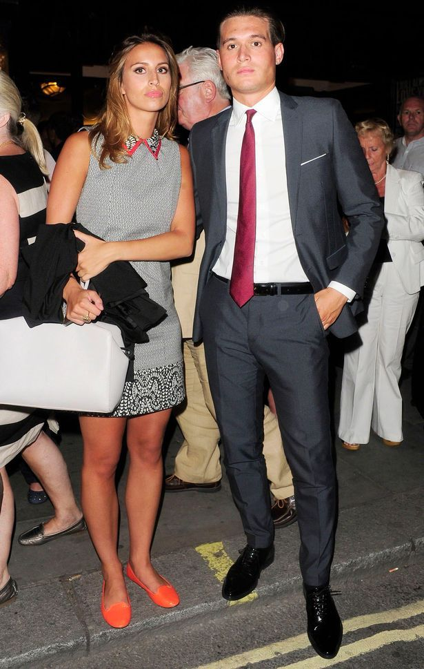the only way is essex  Charlie  & Ferne....