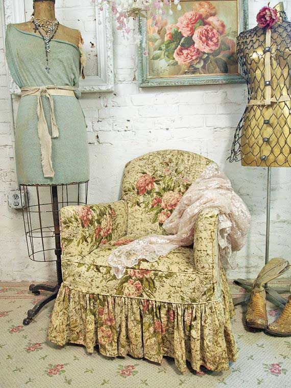 Like the fabric on the chair