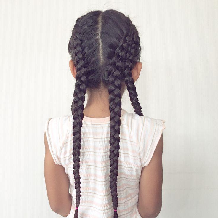 🖊🍍🖊🍍🖊🍍🖊🍍🖊🍍🖊🍍🖊🍍🖊🍍🖊  #おさげ で#スポーティヘア 🏃♀️ 全体を2つ分けし、  さらに縦にわけて4パートに♡  2パートごとに内側にむかって  きつめの#片裏編み込み ♡    #hairforkids#girlsfashion#braidforschool#girlshairstyles#Daily#hairfortoday#braidsforgirls#pigtails #braidsforlittlegirls#女の子の髪型#ヘアアレンジ#毎日の髪型#小学生#1年生#7歳#子どものヘアアレンジ#子供の髪型#キッズヘア#キッズヘアアレンジ#まとめ髪#合宿ヘア#lacebraid   She went to the camp a few days.With Sporty hair...