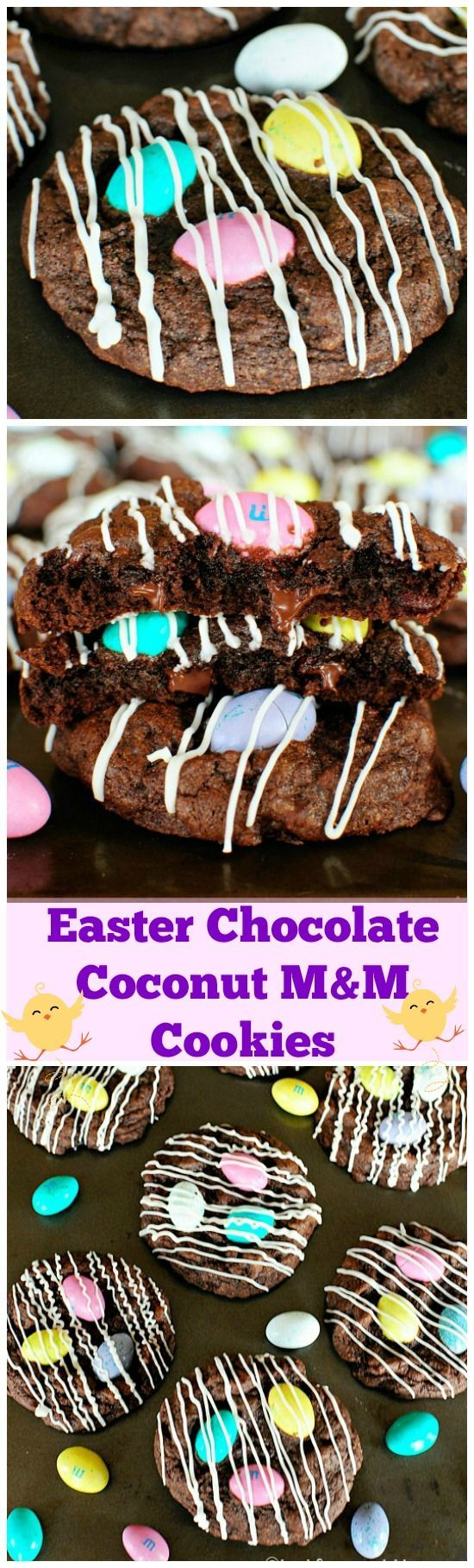 247 best creative food gifts images on pinterest caramel easter chocolate coconut mm cookies negle Gallery