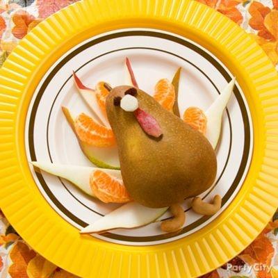 Thanksgiving Festive Fruit Plate Fall O Me Pinterest