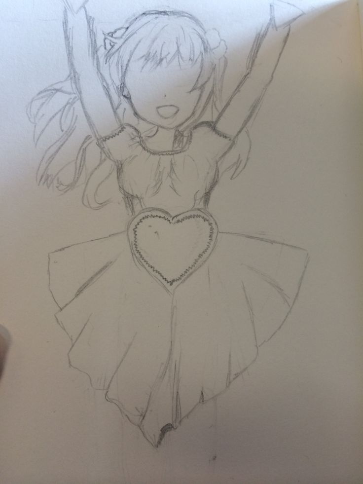 Couldnt draw hands or eyes... But something is something