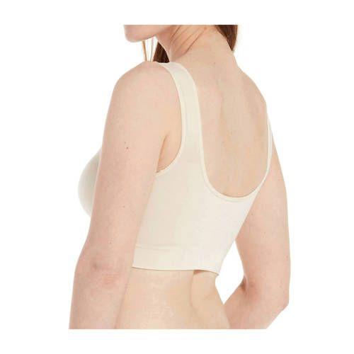 MAGIC Bodyfashion bra without underwire Comfort Bra Bamboo ecru