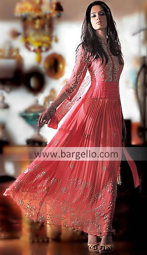 D3144 Pakistani Indian Anarkali Latest Anarkali style dresses With Shalwar Churidar in Calgary Toronto Anarkali
