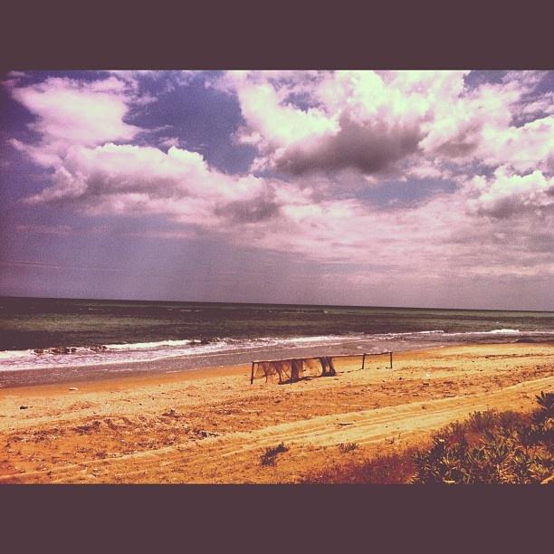 Reti sulla spiaggia. #Grottammare #beach