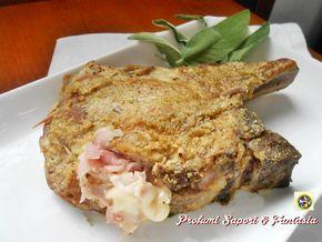 Braciole di maiale alla valdostana, un secondo di carne appetitoso e sostanzioso di facile preparazione. Ottime se servite con patate al forno o verdura.