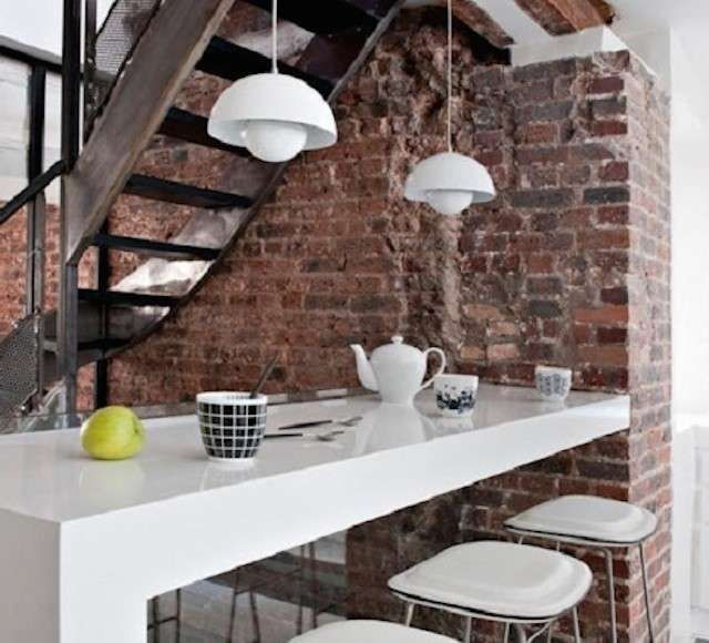 Oltre 25 fantastiche idee su mattoni a vista su pinterest - Archi mattoni vista in cucina ...