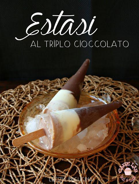Estasi al triplo cioccolato di Letizia