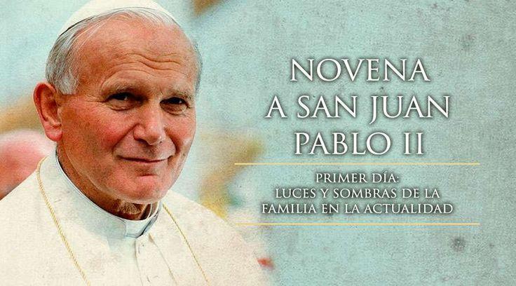 En el nombre del Padre, del Hijo y del Espíritu Santo Oración de San Juan Pablo II por la familia Oh Dios, de quien procede toda paternidad en el...