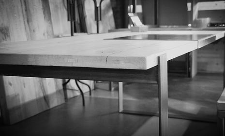 BULK EDITION mobilier en acier et vieux bois sur mesure | JOSHUA