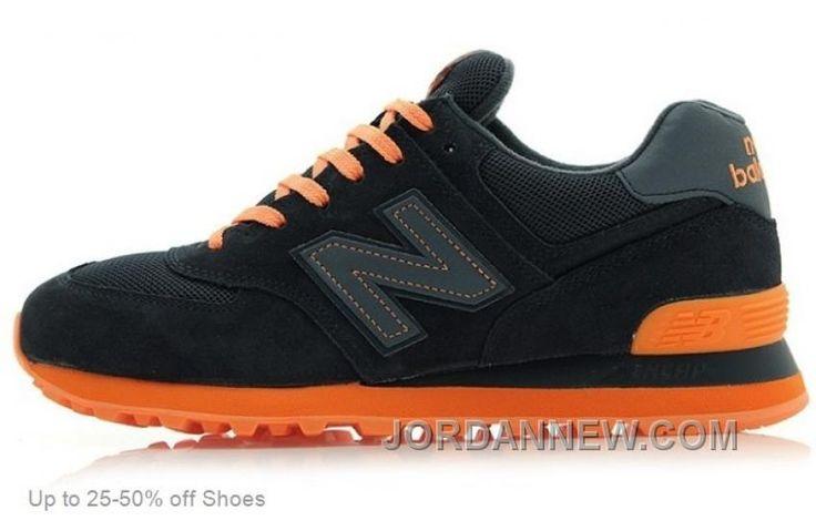 http://www.jordannew.com/new-balance-men-574-black-orange-casual-shoes-online.html NEW BALANCE MEN 574 BLACK ORANGE CASUAL SHOES ONLINE Only $70.00 , Free Shipping!