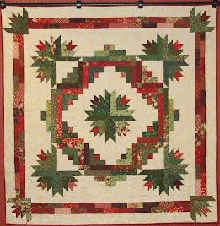 Prairie Flower Quilt Company's Christmas strip project (Quilt shop in Wichita, Kansas)
