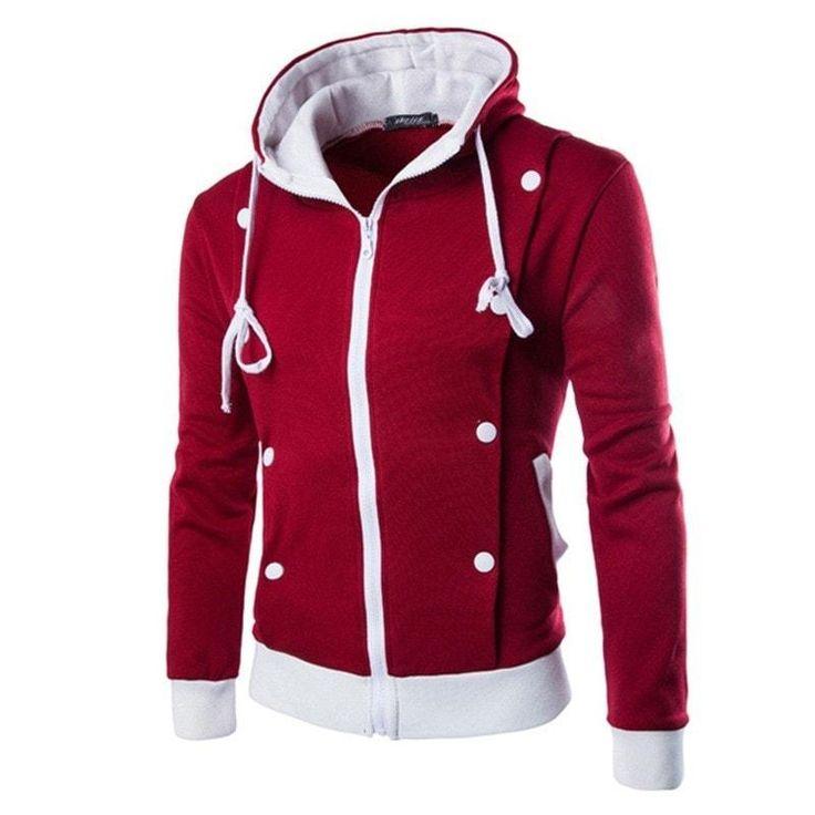 Korean Style Hooded Jacket - Hoodies - eDealRetail - 1