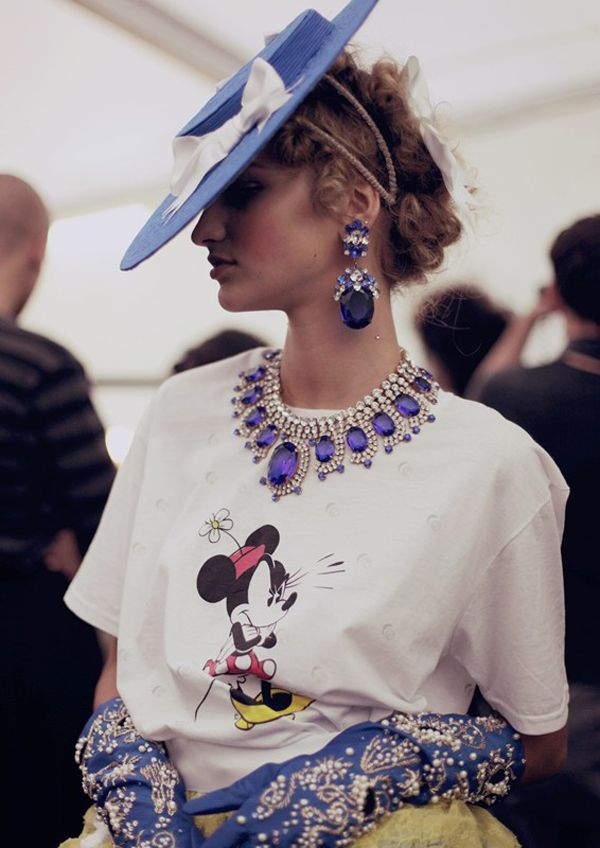 Meadham Kirchhoff S/S 2013 with Jewels by Lilien Czech | Trendland: Fashion Blog & Trend Magazine