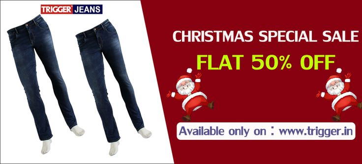 Branded trigger jeans present Christmas special  FLAT 50% OFF