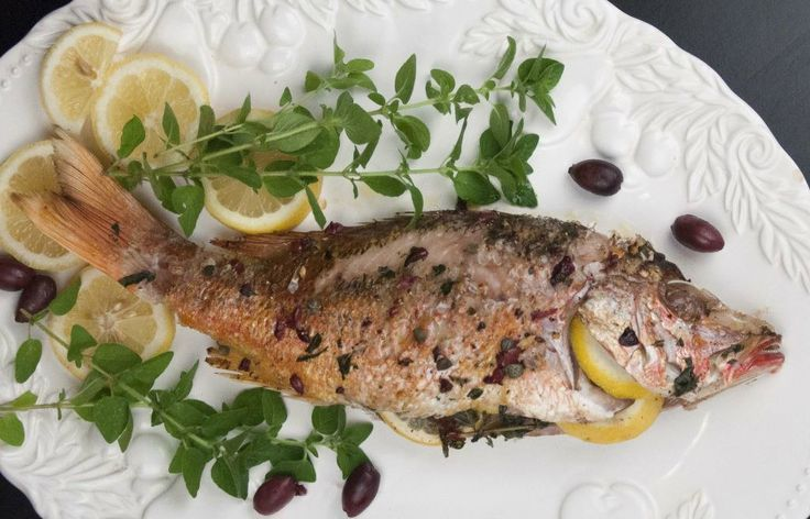 How to Roast A Whole Red Snapper; it's not as hard as you might think ...