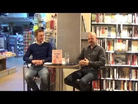 ▶ Kim Leine i samtale med Johannes Jensen - YouTube