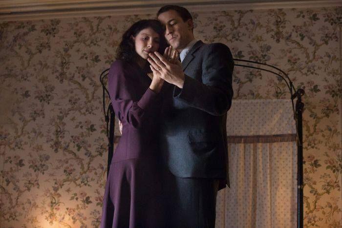 Outlander Series: Claire Randall (Caitriona Balfe); Frank Randall (Tobias Menzies)