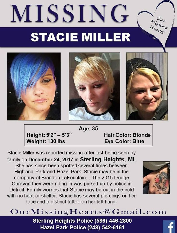 Find Missing Stacie Miller!