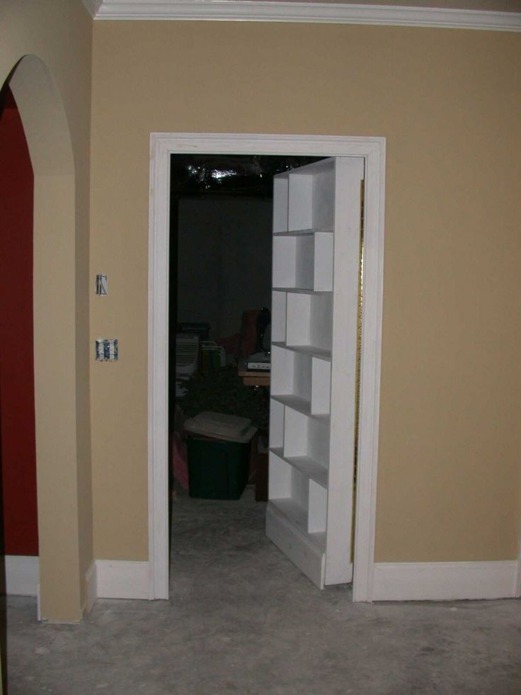 Charming Hidden Room In Basement