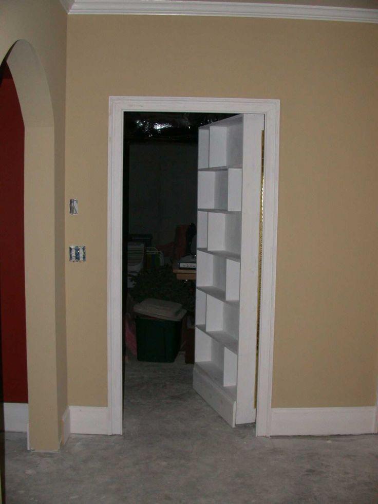 17 Best Images About Secret Bookcase Door On Pinterest