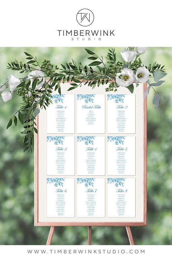 rustic wedding seating plan printable seating chart seating plan