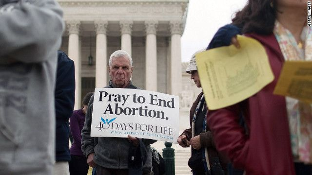 "When Evangelicals were pro-choice:    ""The Bible definitely pinpoints a difference in the value of a fetus and an adult."" And the Southern Baptist Convention passed a 1971 resolution affirming abortion should be legal not only to protect the life of the mother, but to protect her emotional health as well."