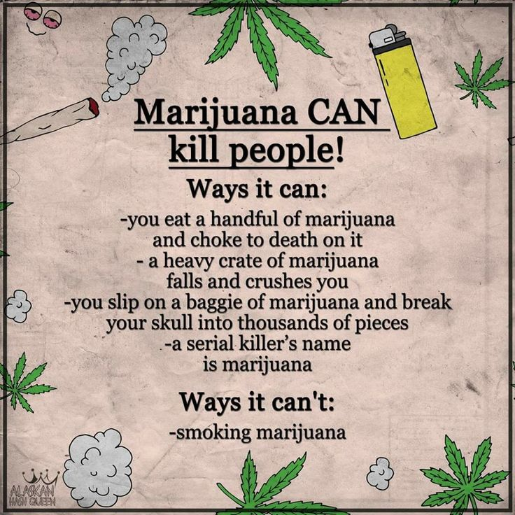 5 Ways Pot Can Kill You, Or Not