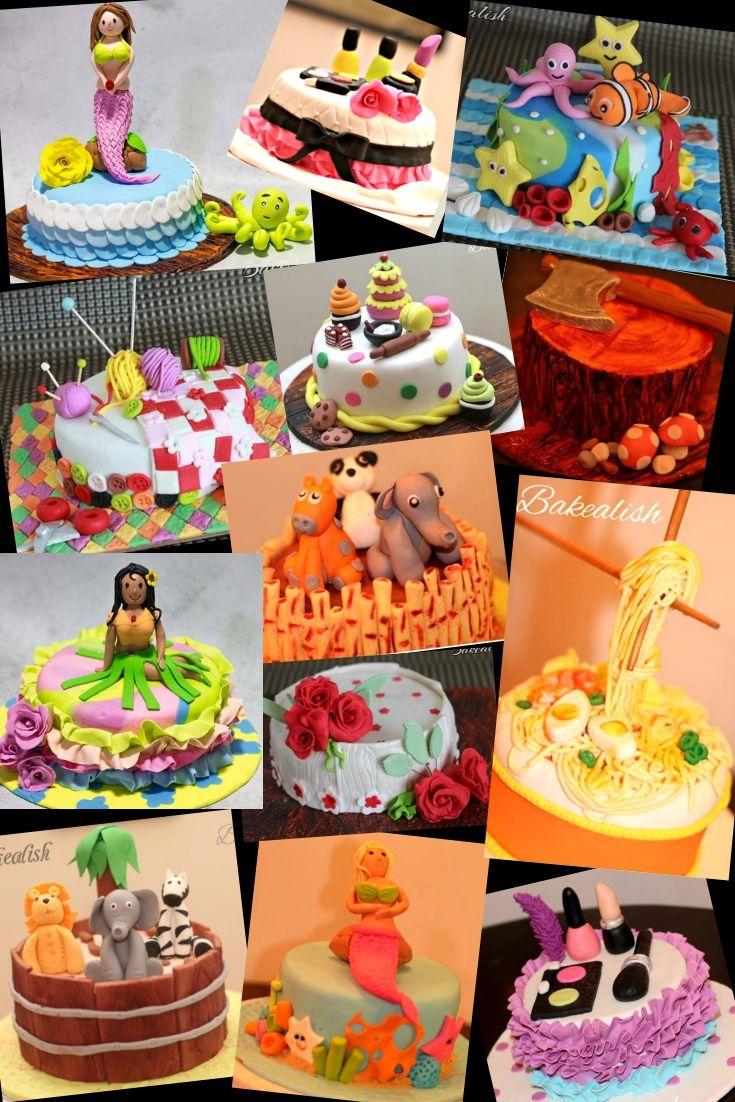 Fondant Theme Cakes 2 Days Intense Course Mumbai Goa Cake Decorating Kits Themed Cakes Cake Decorating Classes