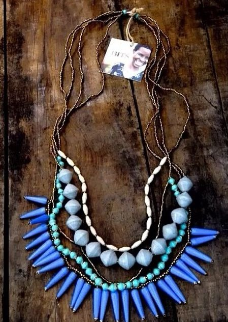 This necklace empowers women in Uganda!