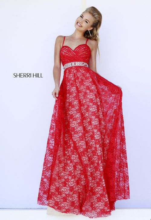86 best Red Prom Style images on Pinterest | Formal evening dresses ...