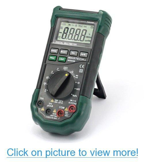 Mastech MS8268 <b>Digital AC</b>/DC Auto/Manual Range <b>Digital</b> ...