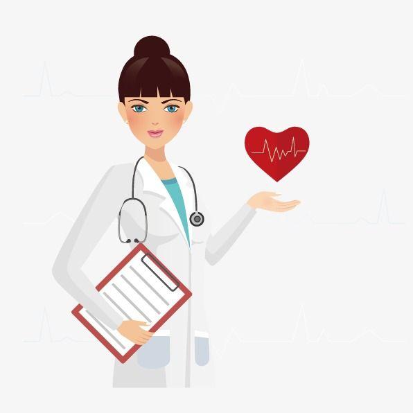 Female Doctor Png And Vector Female Doctor Medical School Humor Medical Background