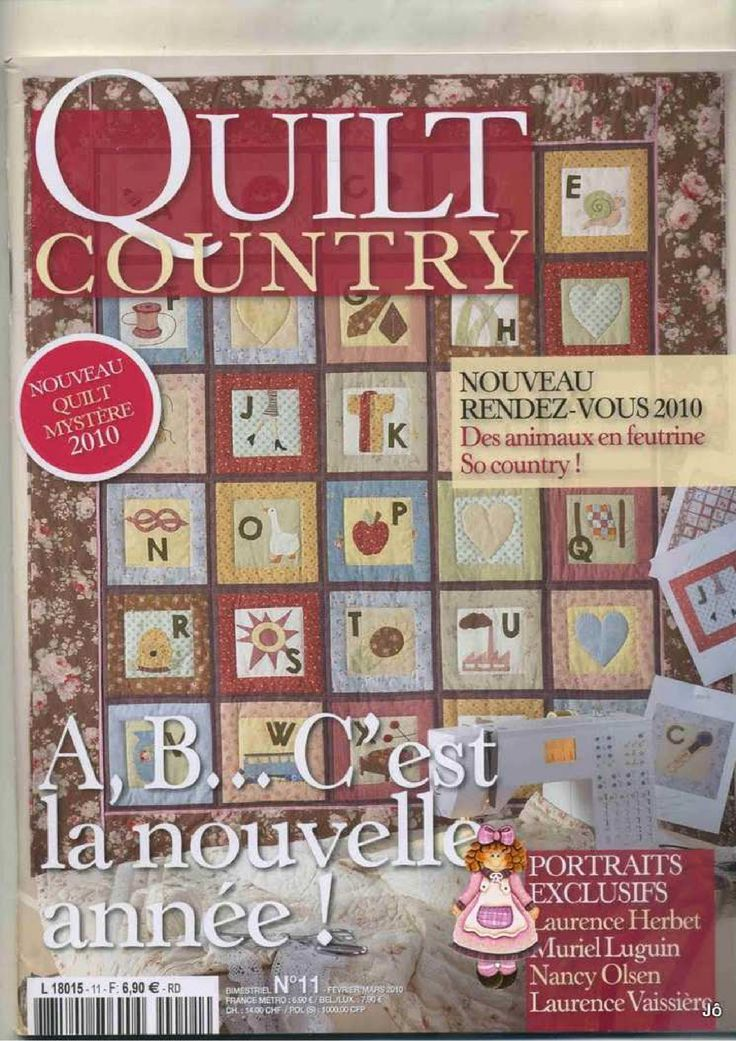 Quilt Country. Not in English. With patterns